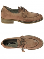chaussures plates dkode percy marron