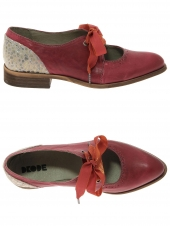 chaussures plates dkode savanna rouge
