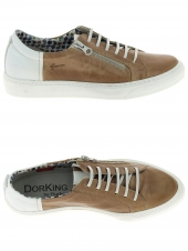 chaussures plates dorking 7043 marron