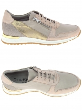 chaussures plates dorking 7078 rose