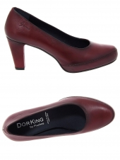 escarpins dorking d5794-su rouge