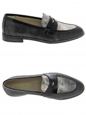 mocassins dorking 6897 noir