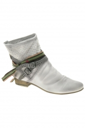 bottines d'ete felmini 8760 blanc