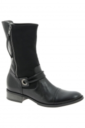bottines de ville france mode candor noir