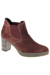 bottines fashion gabor 52.941-38 g bordeaux