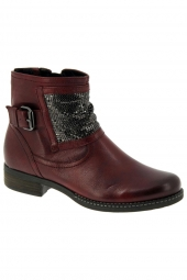 bottines fashion gabor 92.782-28 g bordeaux