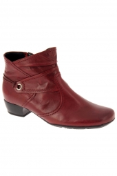 bottines ville gabor 76.642-18 g rouge