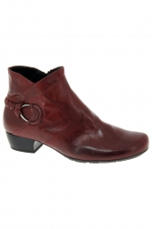 bottines ville gabor 96.644-28 rouge