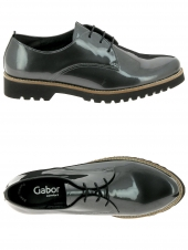 chaussures plates gabor 32.665-89 g gris