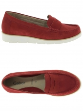 mocassins gabor 44.220-15 rouge