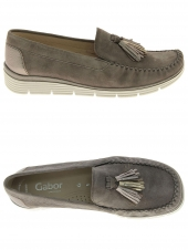 mocassins gabor 62.652-32 g taupe