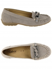 mocassins gabor 82.514.33 g taupe
