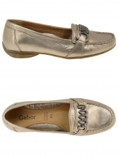 mocassins gabor 84.212-63 or/bronze