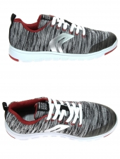 chaussures basses geox j743nl-000zi-c1234 gris