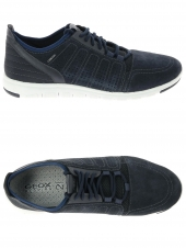 chaussures de style casual geox u720db-02211 bleu