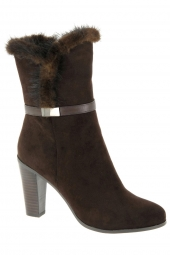 chaussures montantes fourrees hammerstein il003-201-2b marron