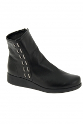 bottines casual hirica betina noir