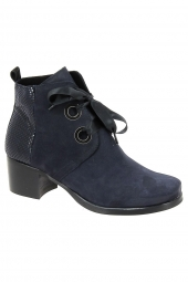 bottines fashion hirica paname bleu