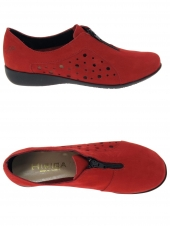 chaussures plates hirica lingot rouge