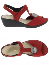 nu-pieds style casual hirica tiana rouge