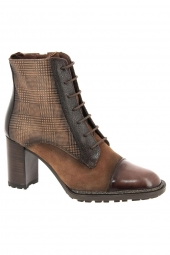 bottines de ville hispanitas chi87724-parsley-7 marron
