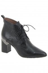 bottines de ville hispanitas hi87533-lino-7 noir