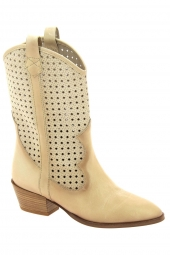 bottines d'ete hispanitas hv00420-kansas beige