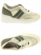 chaussures plates hispanitas hv98641 or/bronze