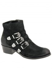 bottines fashion hogl 6-103213-0100 noir