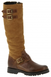 bottes fourrees hooper shoes holly marron