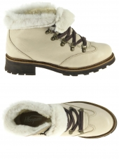 chaussures montantes fourrees hooper shoes hanko beige