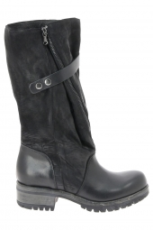 bottes fashion intrigo stella 7 noir