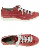 chaussures plates jose saenz 1034 rouge