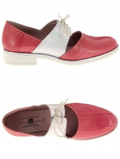 chaussures plates jose saenz 2061 rouge