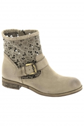 bottines d'ete juice st070/ma beige