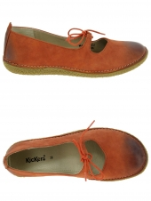 ballerines kickers hello orange