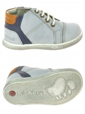 bottillons kickers tropic gris