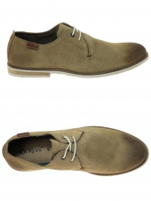 chaussures de style casual kickers flallina beige
