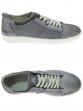 chaussures plates kickers happystar gris