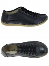 chaussures plates kickers hollyday noir
