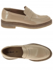 chaussures plates kickers oxmox beige