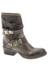 bottes mi-mollets life night 80 taupe