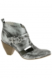 bottines d'ete life st04/577 gris