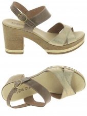 nu-pieds style ville lince by gianni zenna 71103 121 or/bronze