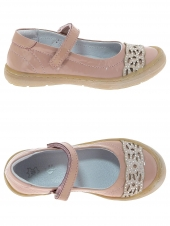 chaussures basses de style ballerine little david manja 1 rose