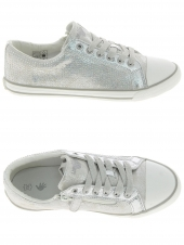 chaussures basses little david loccolo 2 argent