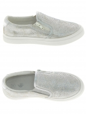 chaussures basses little david loccolo 3 argent
