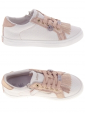 chaussures basses little david reptie  1 rose