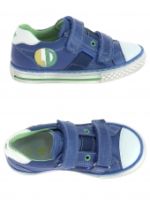 chaussures basses little david son 1 bleu