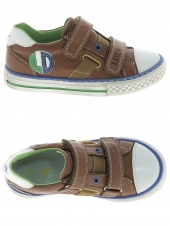 chaussures basses little david son 1 marron